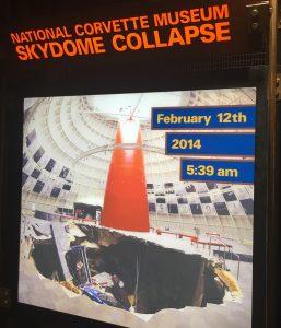 Corvette Skydome Collapse