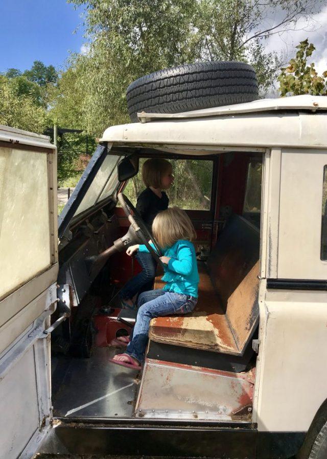 Driving Safari Jeep