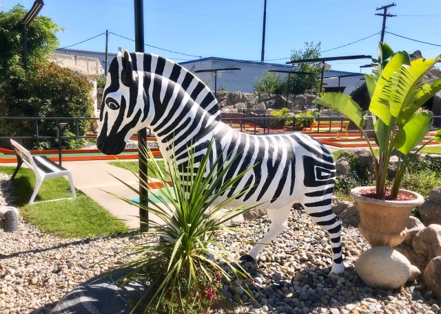 Putt-Putt Zebra