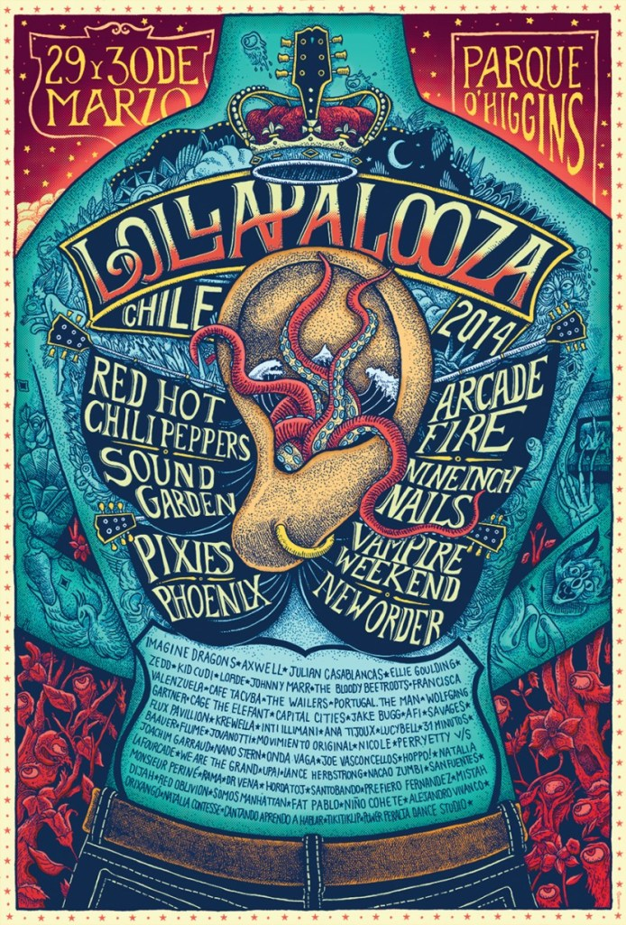 Lollapalooza Chile 2014 - Preview