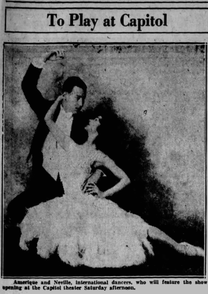 image of Neville Goddard and his wife dancing