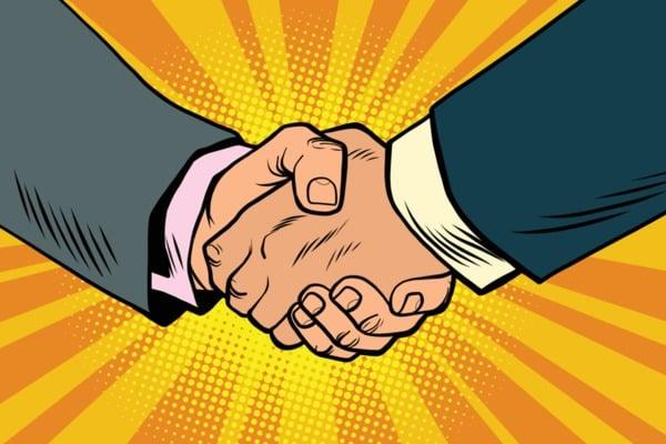 image of a handshake