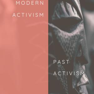 Modern activism versus past activism on thevictoriao.com