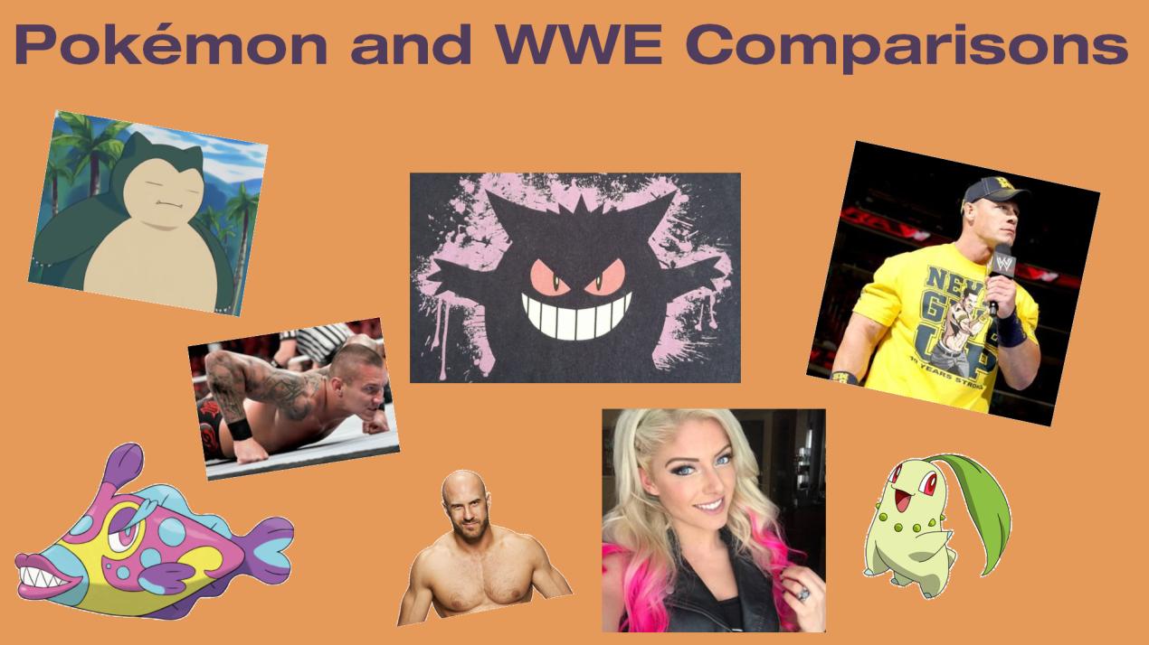 Which Pokémon Resemble WWE Superstars?