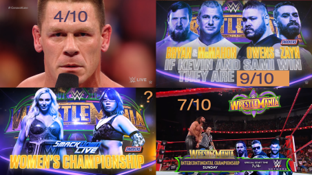 Rating the Build-Up of Every WrestleMania 34 Match