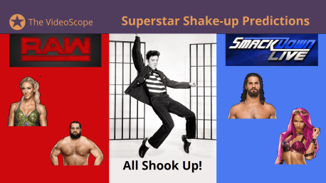 WWE SuperStar Shake-Up Predictions 2018