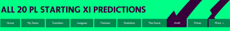 Starting XI Header 1024x138 - The 2018/19 Fantasy Premier League Guide