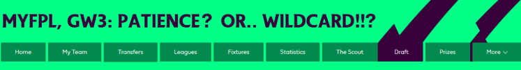 Patience or Wildcard FPL 1024x138 - MyFPL, GW3: Patience? Or... WILDCARD!!?