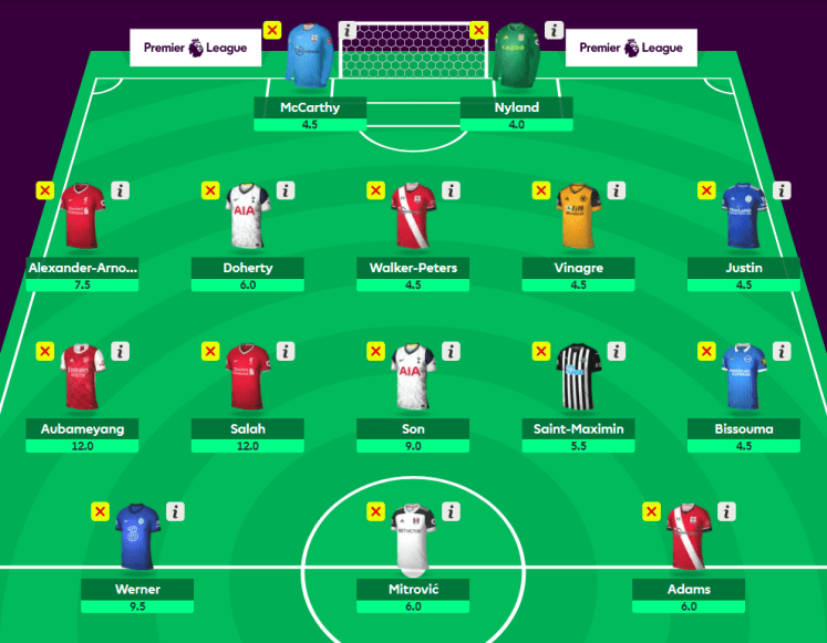 The Template Squad v5 - The 2020/21 Fantasy Premier League Guide