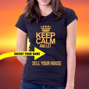 customize your real estate shirt