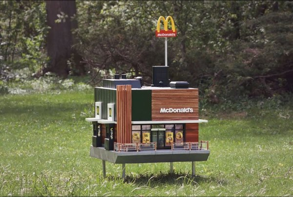 Take A Look inside The World's Smallest McDonald's: The McHive image of McDonald's