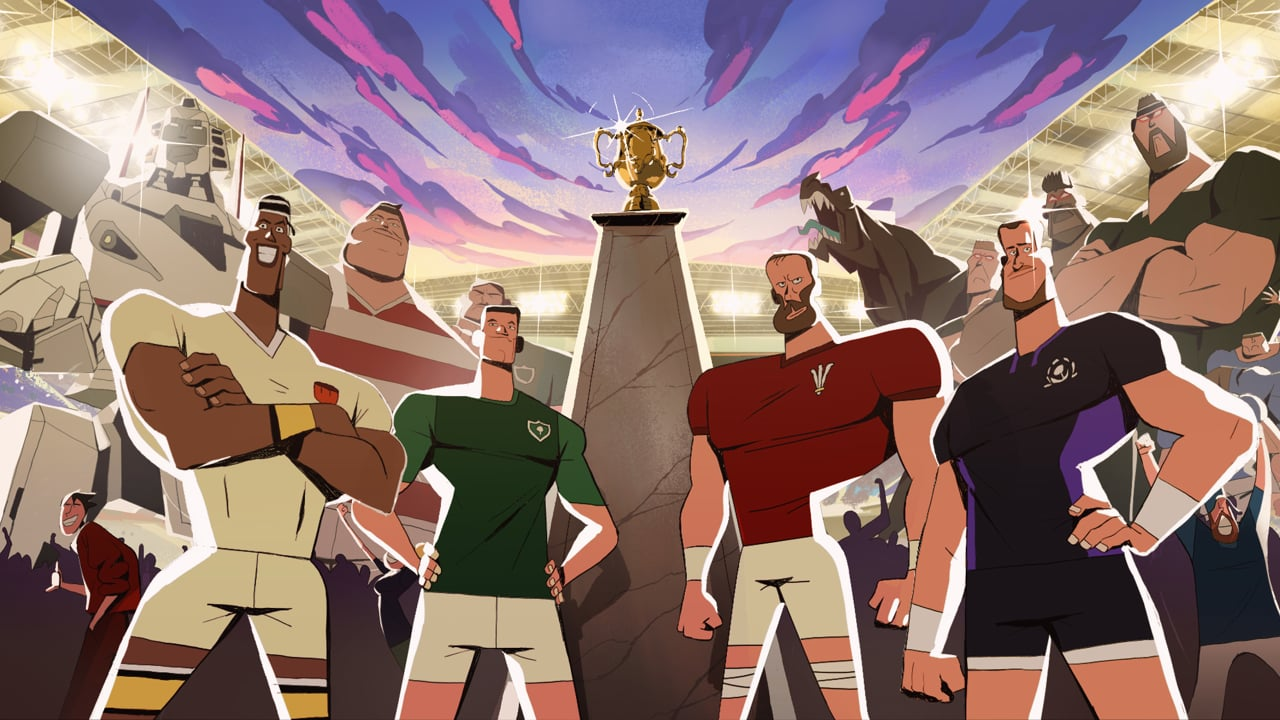 Watch ITV's Epic Animated Ad For The Rugby World Cup image of Rugby World Cup