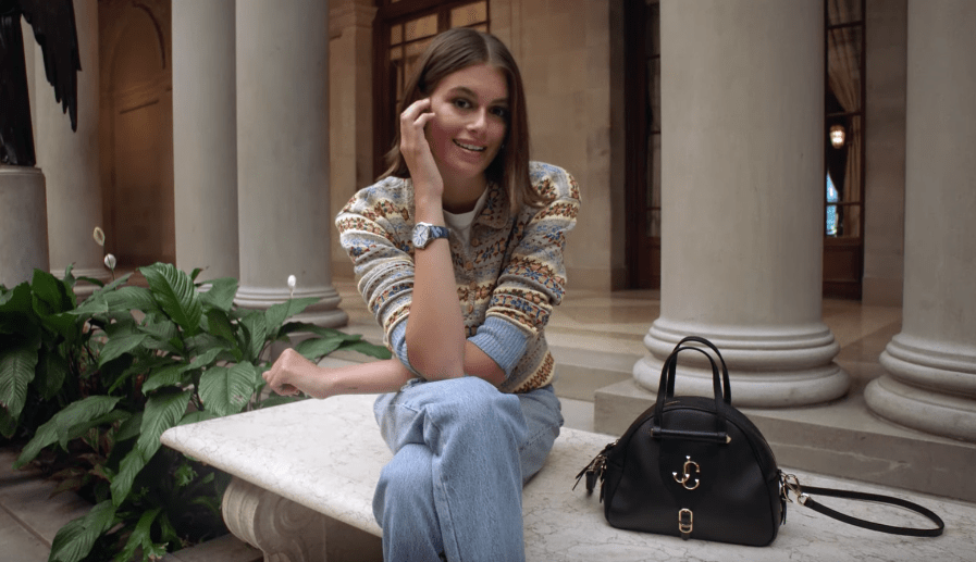 Kaia Gerber Tells Vogue What She Has In Her Bag image of Kaia Gerber