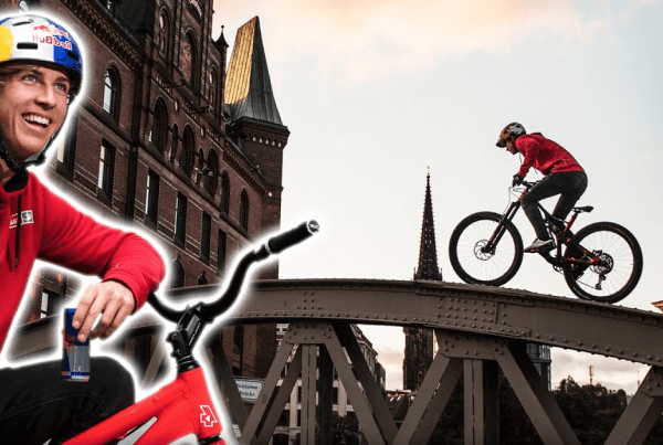 A Red Bull Drone Races A Pro Biker Around Germany image of Fabio Wibmer