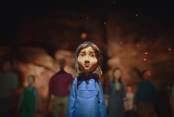 "WWF Tells You To ""Adopt A Better Future"" In This Stop-Motion Ad image of WWF"