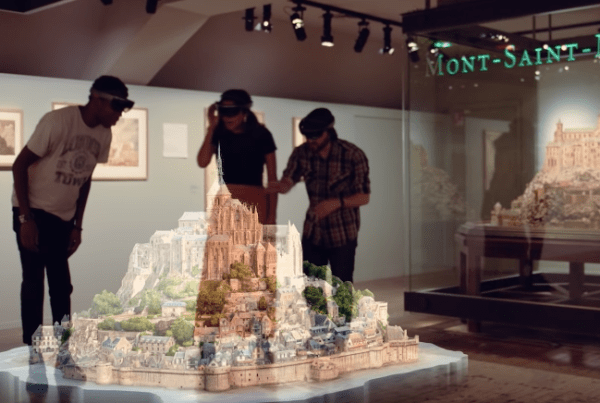 How Microsoft Is Re-Creating Iconic Buildings As Holograms image of Microsoft
