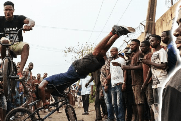 Red Bull Bike: Courage Adams Returns To Nigeria To Go Back To His BMX Roots image of Courage Adams