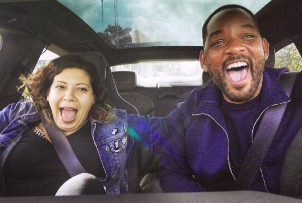 Will Smith Gives Strangers A Ride With Lyft image of Will Smith