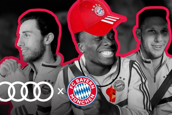 Audi Take The Bayern Munich Team For A Spin In This Interview image of Bayern Munich