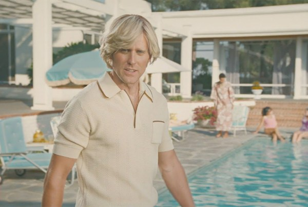 Old Spice Make A 1970s Style Advert For Their New Hair Thickening Shampoo image of Old Spice
