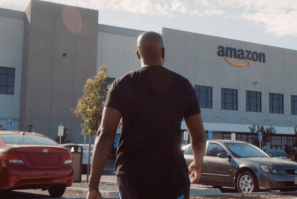 Amazon Thanks It's Workers In This Advert image of Amazon