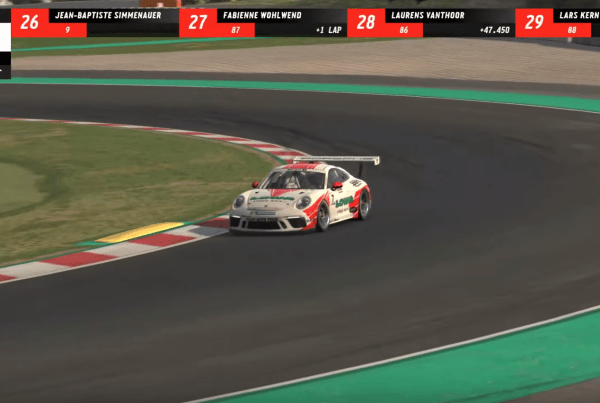 Porsche Live Streamed A Virtual Version Of The Mobil 1 Supercup image of Porsche