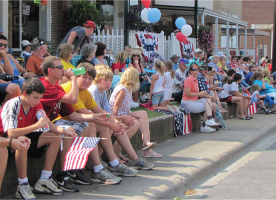 Residents Celebrate Freedom Fest