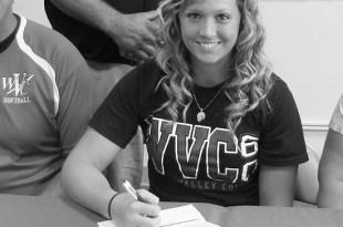 Brooke Childress signing