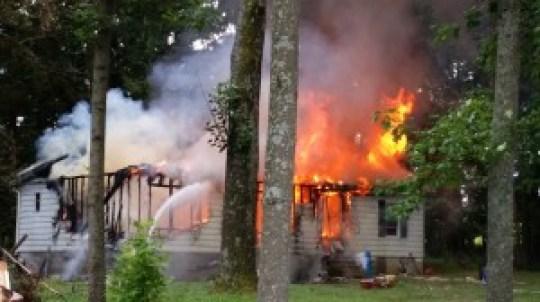 Holland Lane fire