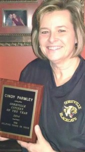 Cindy Parmley award