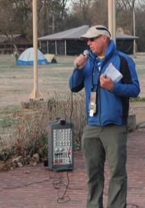 Race director Steve Durbin