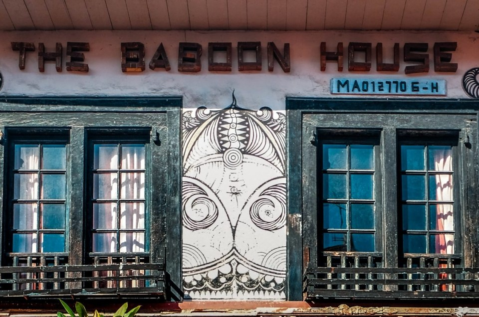 The Baboon House at Melaka
