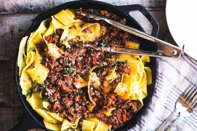 Easy Pasta Bolognese Recipe | The View from Great Island