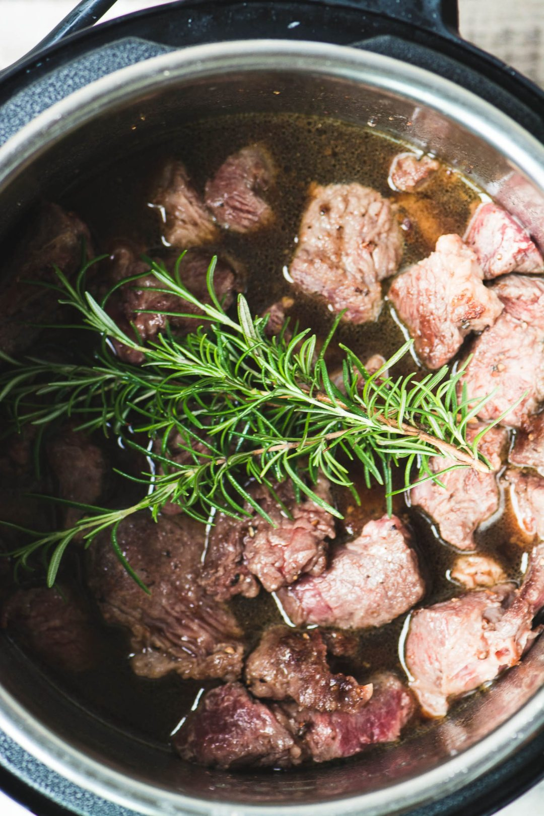 browning lamb or beef for Instant Pot Irish stew