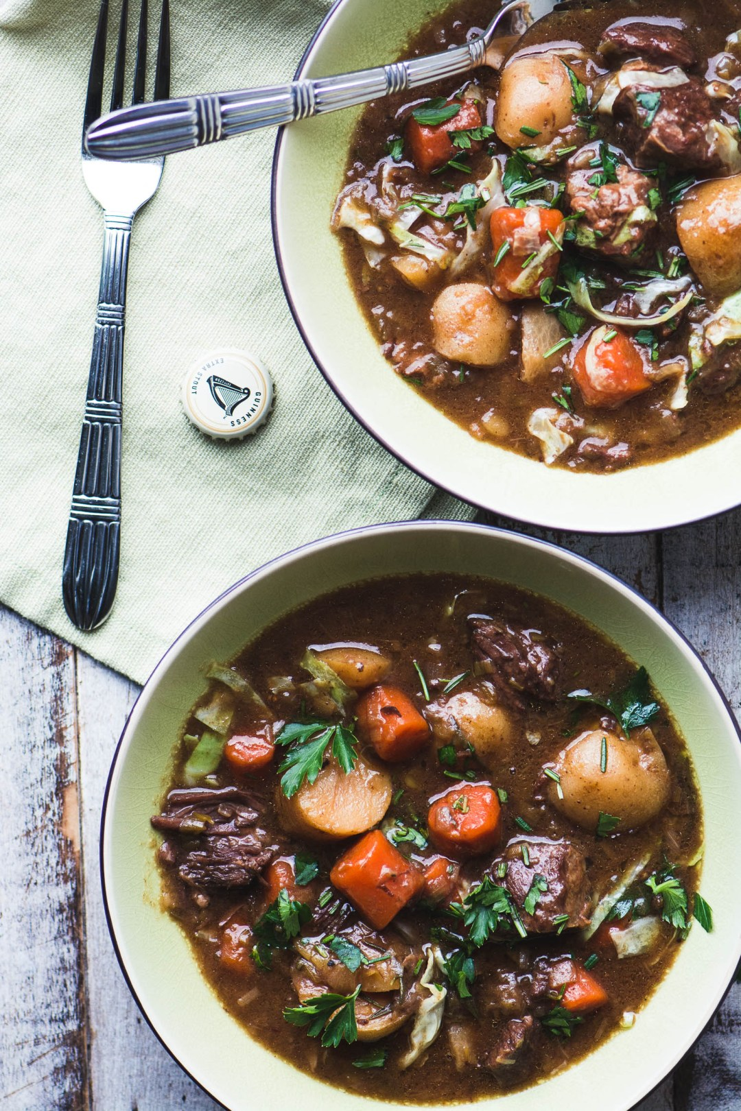 Irish stew made in the instant pot