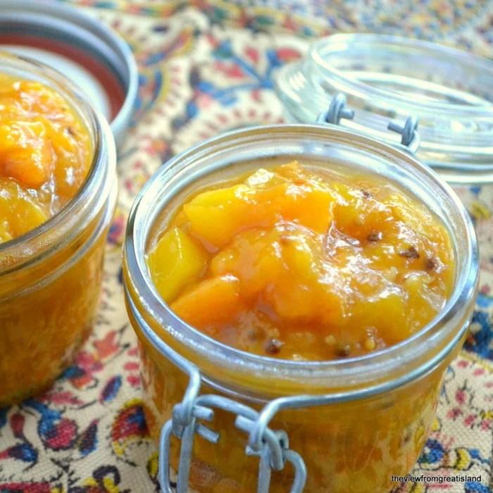 Mango Persimmon Chutney