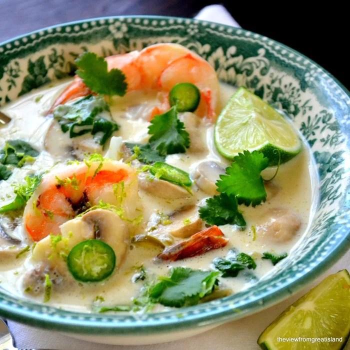 Thai Coconut Lime Soup