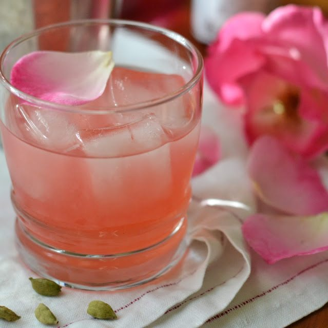 The Cardamom Rose Cocktail