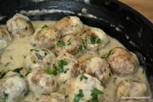 cocktail meatballs Stroganoff