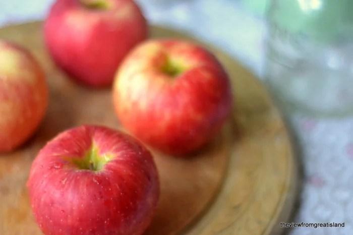 apples for apple jam