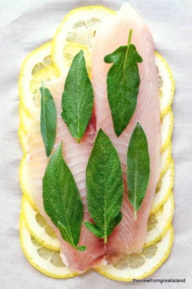 Healthy Lemon Herb Fish