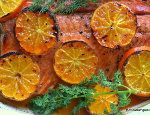 odka and Clementine Glazed Salmon 3