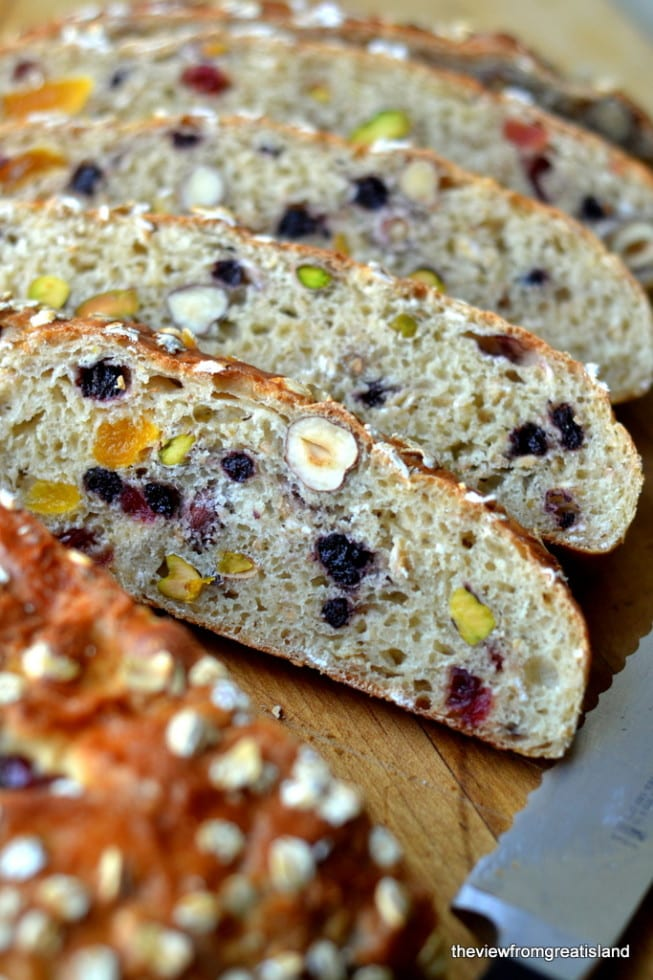 Muesli Toasting Bread ~ a chunky fruit and nut bread that's just made for the toaster!