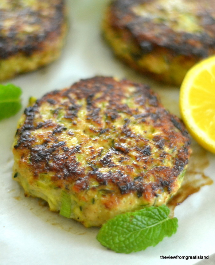 Turkey & Zucchini Burgers with Green Onion and Cumin 9