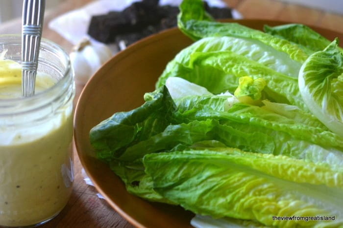 Authentic Caesar Salad Dressing in 30 Seconds Flat