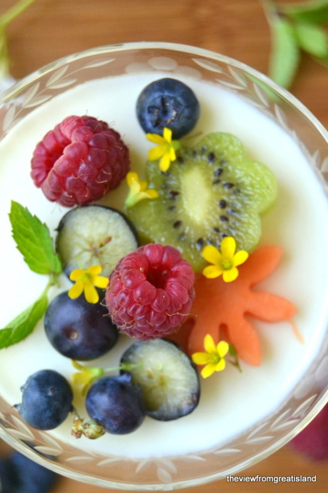 This light Lemon Panna Cotta is the perfect early spring dessert, it's no-bake, super simple, and you can make it dairy free with coconut milk!