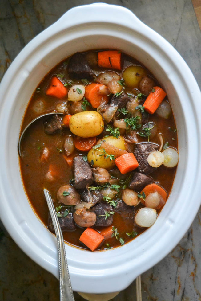 An easy and elegant slow cooker recipe for fall!