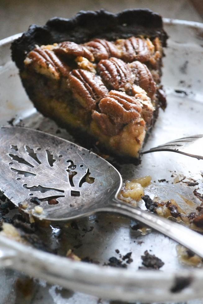 Black Bottom Bourbon Pecan Pie 2