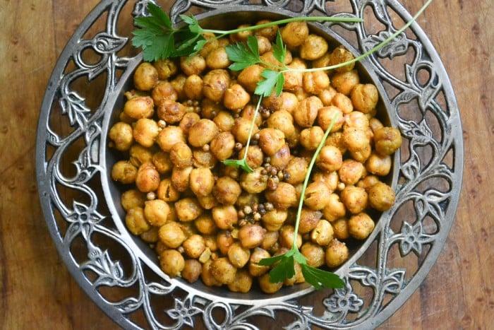 Tandoori Roasted Chickpeas