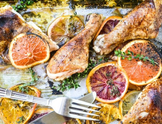 Chicken with Allspice and Citrus